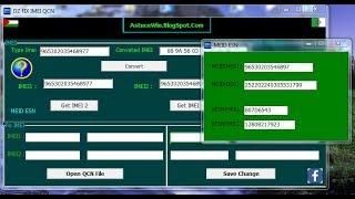 DzFixImeiQcn IMEI QCN Tool (xqcn) (qcn) اصلاح الايمي باستخدام ملف