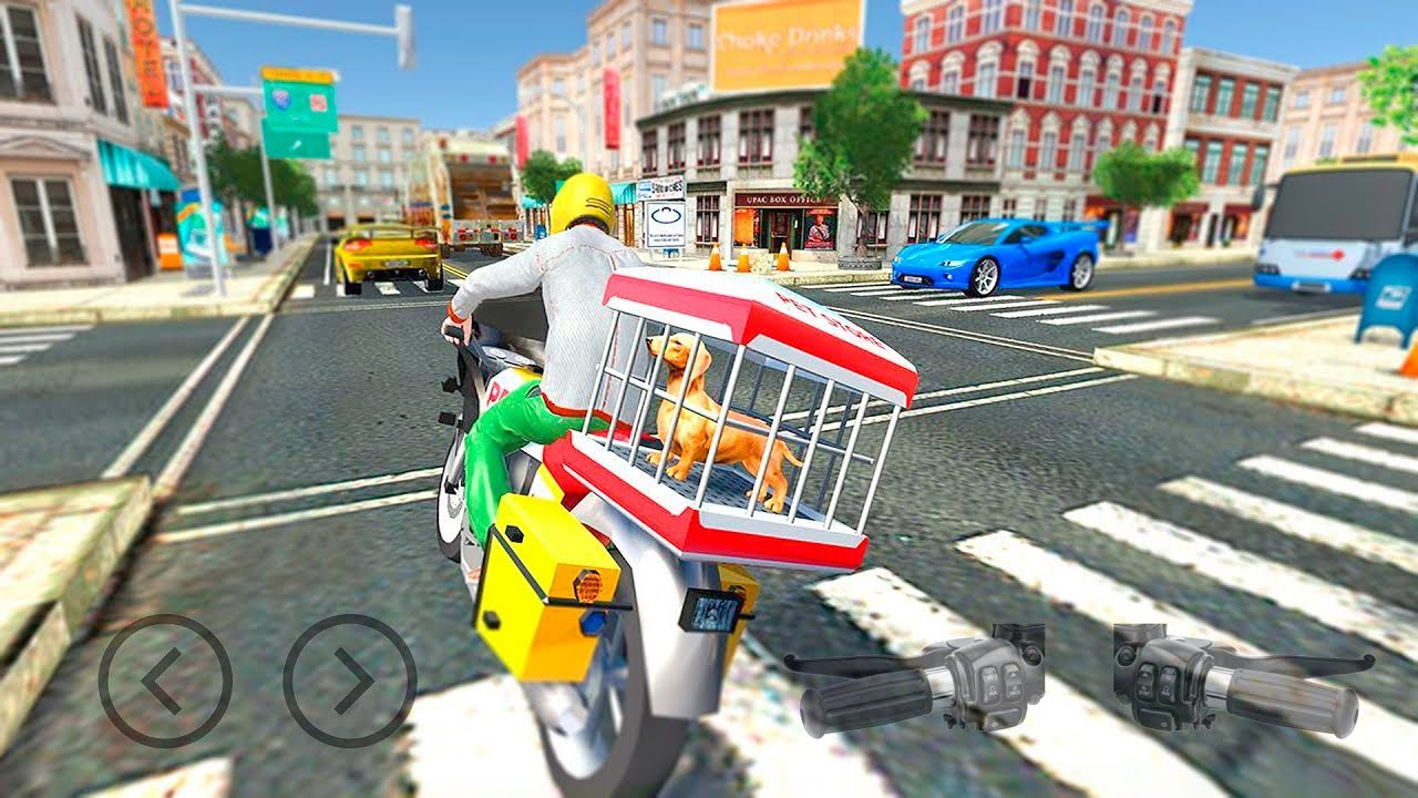 City Bike Pet Animal Transport by Warm Milk Productions Gameplay Android