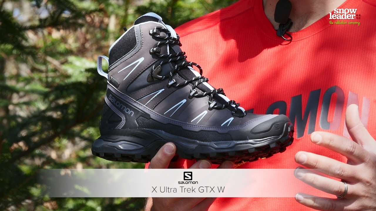 fac4ede3 Salomon : X ultra Trek GTX W - YouTube