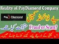 Reality of PayDiamond Company Is it Fraud Scam | Unbelievable Facts Hindi/Urdu