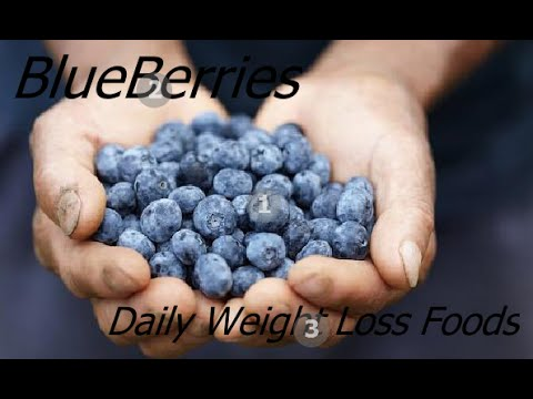 Blueberries & Weight Loss - Healthy Blueberry Recipe Diet Foods
