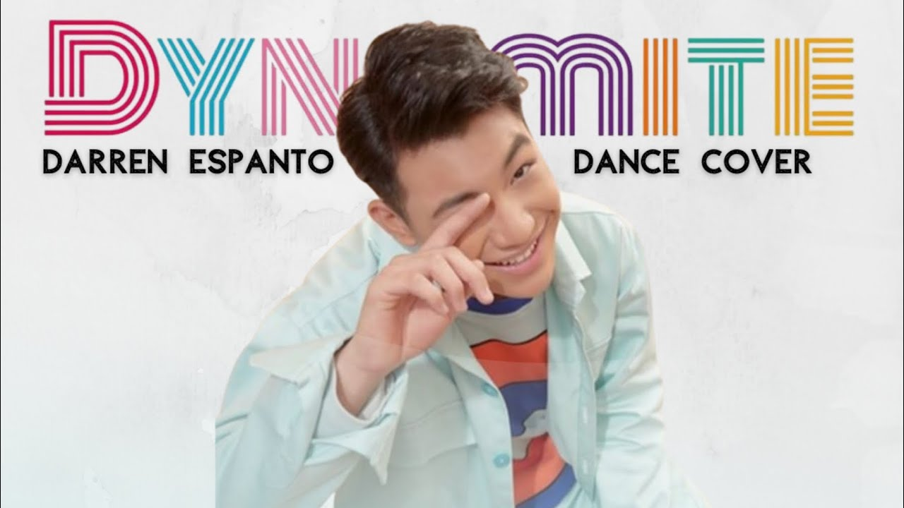 DYNAMITE - BTS 방탄소년단 DANCE COVER 댄스커버   DARREN ESPANTO