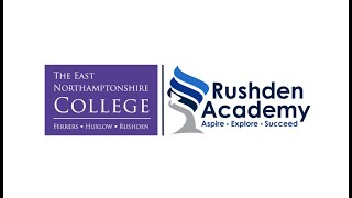 Are you considering studying at Rushden Academy next year?