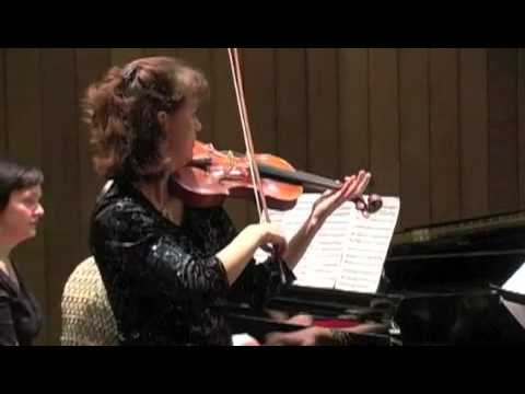 Michele Walther and Irina Behrendt: Aaron Copland Hoe Down from Rodeo
