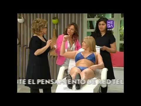 Angélica Contreras - Estética - Como Reducir Brazos- Mucho Gusto - www.mega.cl