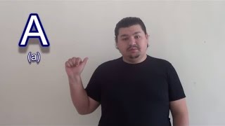 Lesson BGSL # 1 - Азбука / Alphabet (Bulgarian Sign Language)