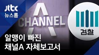"""채널A """"기자가 휴대전화·PC 초기화…유착 증거 없다"""" / JTBC 뉴스룸"""