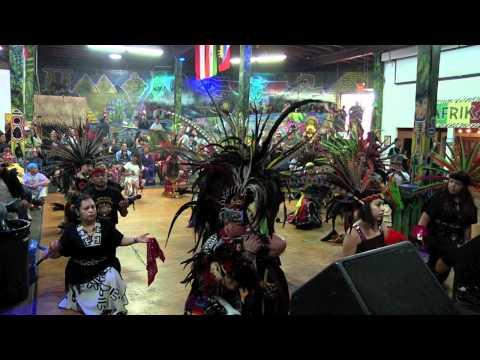 Aztec Drum & Dance at WorlBeat Cultural Center
