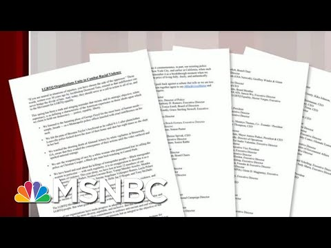 HRC Issues Letter Condemning Racial Violence | Morning Joe | MSNBC