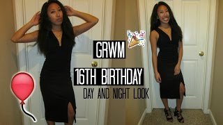 GRWM 16th birthday!! Day and Night look!♡
