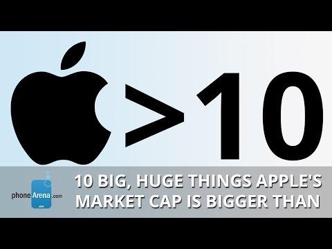 10 big, huge things Apple's market cap is bigger than