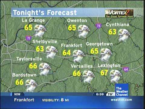 The Weather Channel - Local Forecast - 5/23/2009 6:38pm