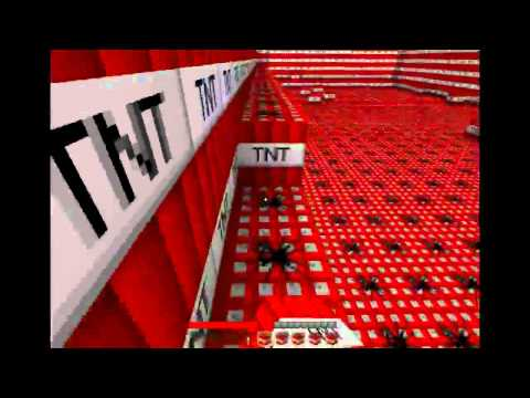 Minecraft: TNT explosion 10000 blocks!