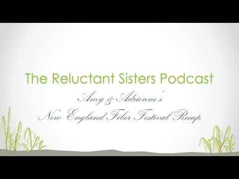 Amy & Adrienne's New England Fiber Festival Recap
