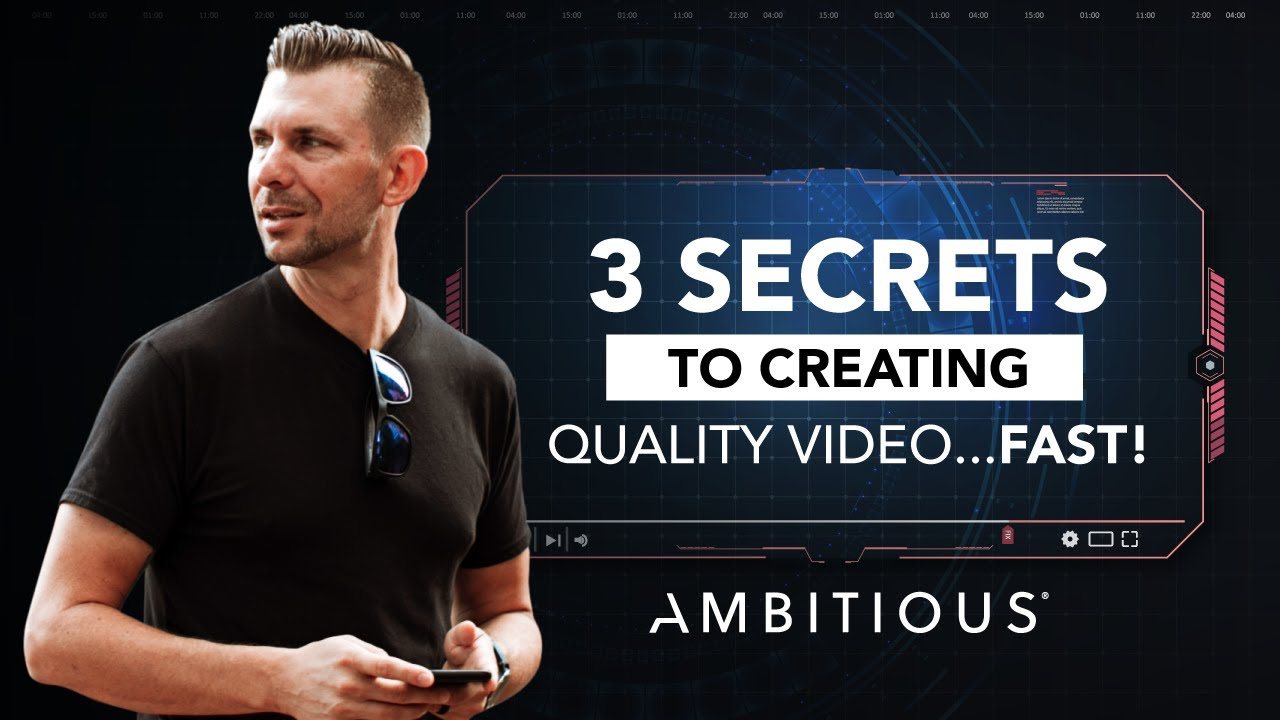The 3 Secrets To Creating Quality Social Media Videos For Your Business Fast