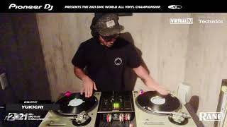 YUKICHI: 2021 DMC World All Vinyl Champion
