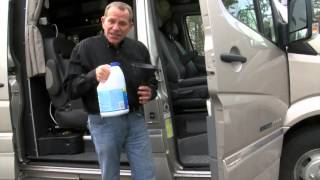 How to Sanitize the Fresh Water Tank | RV Tip