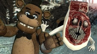 We Found the SCARY BRIDGE WORM in Gmod! - Garry's Mod Multiplayer Survival