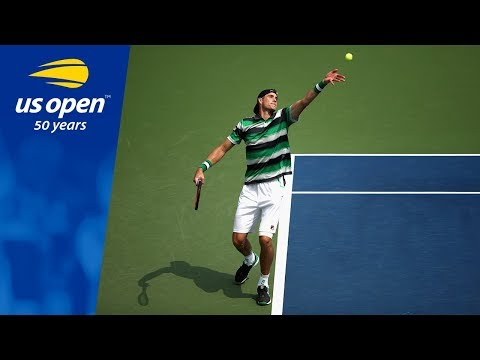 John Isner Defeats Bradley Klahn In R1 Of The 2018 US Open