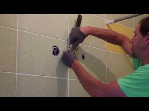 Как крепить водонагреватель к стене видео