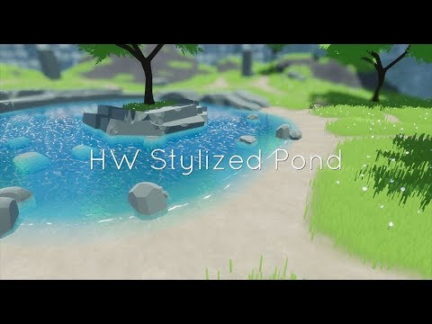 HW Stylized Pond is now live on the Marketplace! : unrealengine