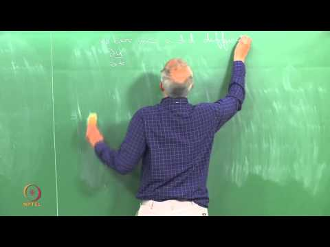 Mod-01 Lec-32 Turing patterns: Instability in reaction-diffu