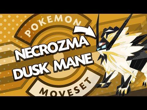 Necrozma Dusk Mane Moveset Guide! How to use Necrozma! Pokemon Ultra Sun and Moon! w/ PokeaimMD!