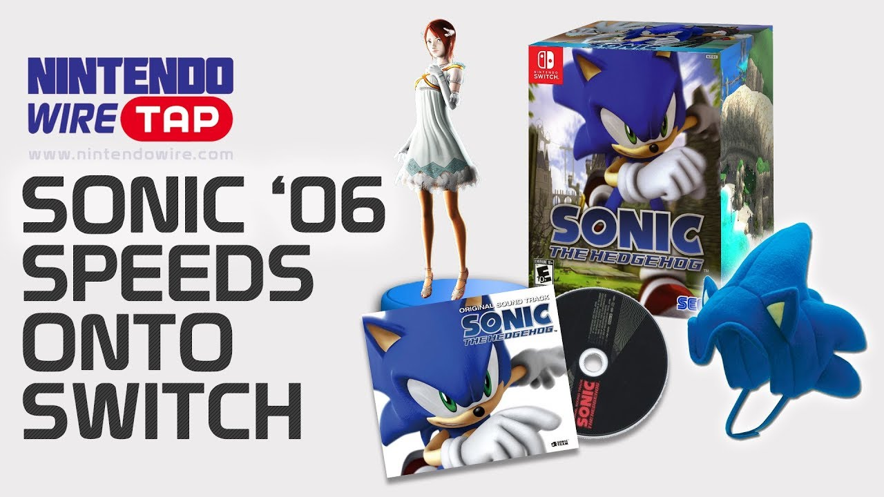 Sonic 06 Comes To The Switch With A New Amiibo Nintendo Wiretap April Fools 2018 Youtube