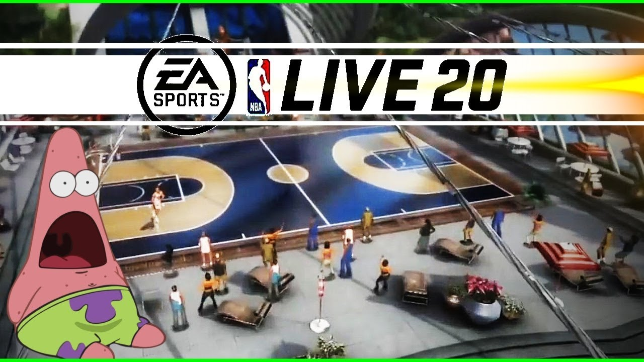Cancelled Or Is It Nba Live 2020 Gameplay Has A Major Surprise For Nba 2k20