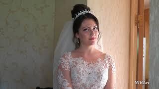 прекрасная невеста видеосъёмка свадеб КБР г. Нальчик. Сборы невесты