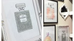 Glam Frame DIY & Chanel Picture|Dollar Tree