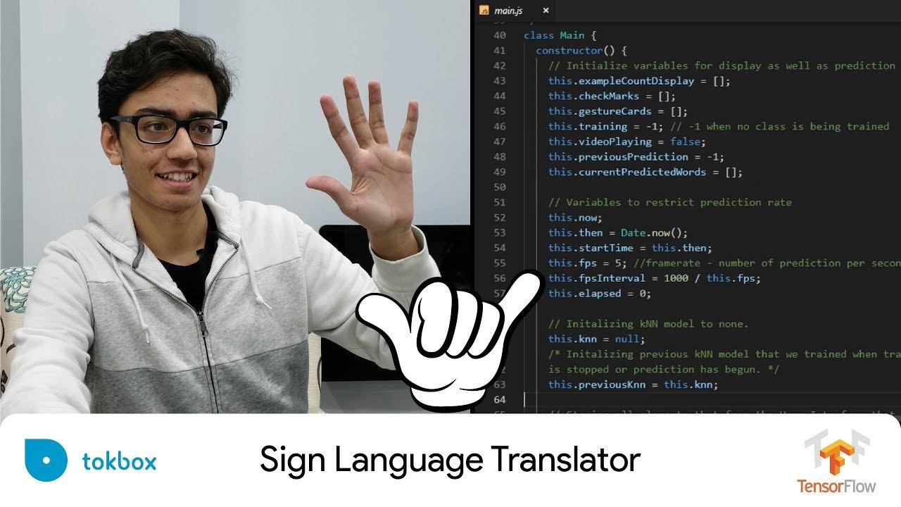 Using Machine Learning to Translate Sign Language
