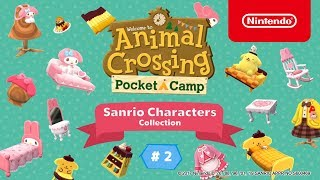 Animal Crossing: Pocket Camp - Sanrio Characters Collection #2