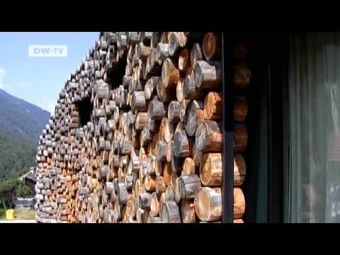 deluxe: Living in an Unusual Log Cabin   euromaxx