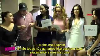 "Fifth Harmony - plays ""Never Have I Ever'"" at Kiss FM [LEGENDADO PT/BR]"