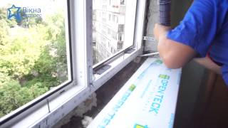 Установка окна Rehau