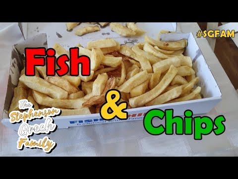 Fish & Chips  #SGFAM #AutismVlogs