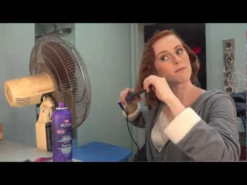 GET READY WITH ME!  30s hair and makeup for theater