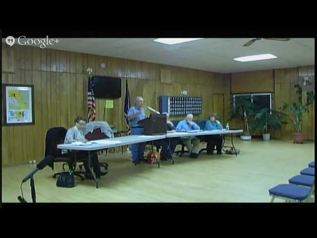 Lincoln Township Meeting 1/13/2014