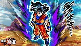 THIS *NEW* MANGA GOKU HAS 8+ FORMS! Dragon Ball Xenoverse 2 Omen Goku Vs Moro (Custom Skills)