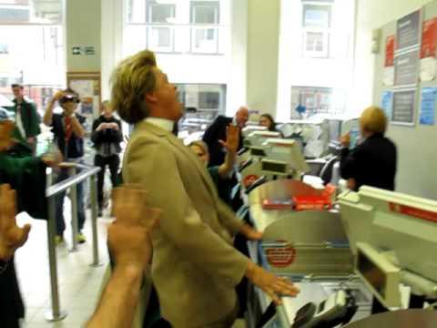 Reverend Billy UK Shopocalypse Tour - Liverpool Tesco Exorcism!