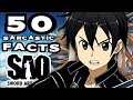 Download Video 50 SARCASTIC ANIME FACTS - SAO AINCRAD ARC (Don't Laugh / Get Triggered Challenge - 99% Fail)