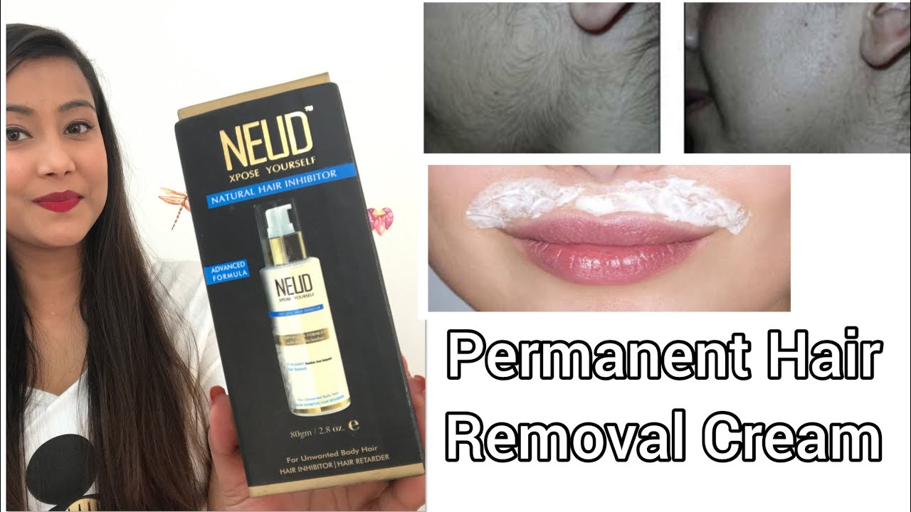 Permanent Hair Removal Cream Neud Natural Hair Inhibitor 100