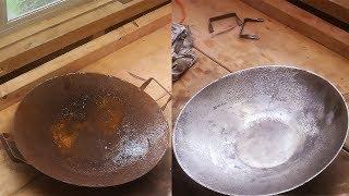 Rusty Wok Restoration