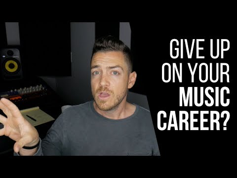 Is It Time To Give Up On Your Music Career? - RecordingRevolution.com