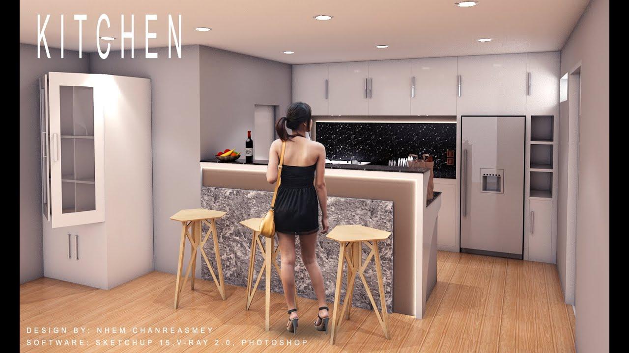 Gentil Kitchen Design 360 Degree