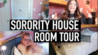sorority house room tour