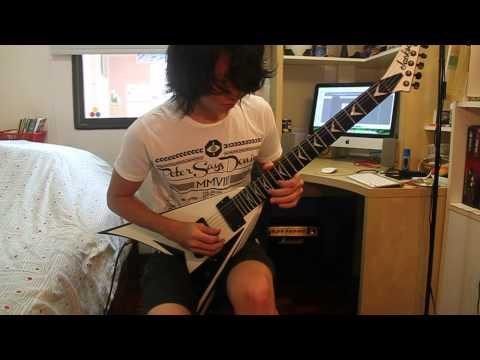 Periphery - Erised (John Petrucci Solo) (Guitar cover) HD