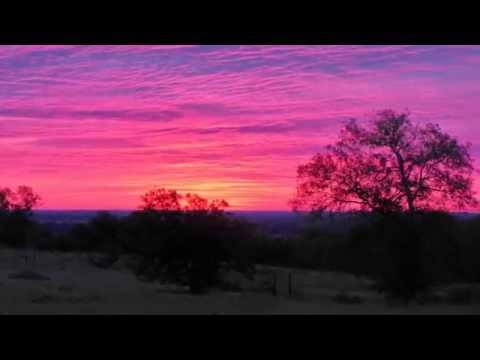 Sunset Chappell Hill Texas