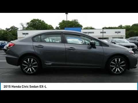 2015 Honda Civic Sedan Edison NJ 10665P
